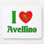 Amo Avellino Italia Alfombrillas De Ratones