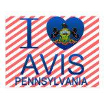Amo Avis, PA Postal