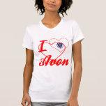 Amo Avon, Massachusetts Camisetas