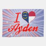 Amo Ayden, Carolina del Norte Toalla De Mano