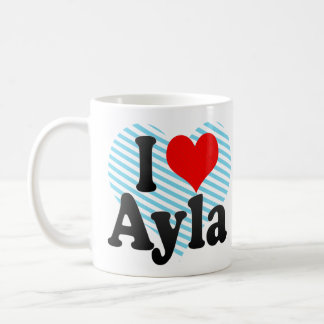 Amo Ayla Taza De Café