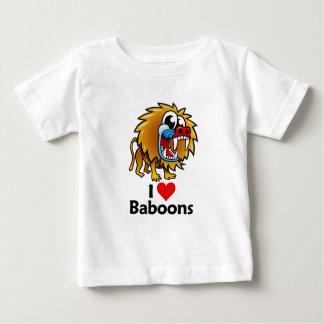 Amo babuinos camisas