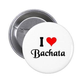 amo Bachata Pin Redondo 5 Cm