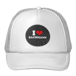 AMO BACHMANN (blanco) Gorros