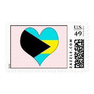 Amo Bahamas Sello Postal