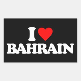 AMO BAHREIN RECTANGULAR PEGATINA