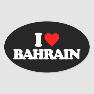 AMO BAHREIN PEGATINAS OVALES