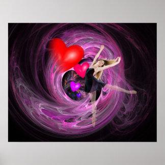 ¡Amo bailar Impresiones