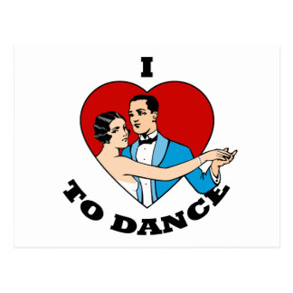 Amo bailar postales