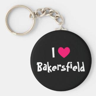 Amo Bakersfield Llavero Redondo Tipo Pin
