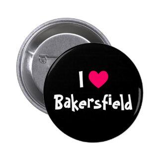 Amo Bakersfield Pin Redondo De 2 Pulgadas