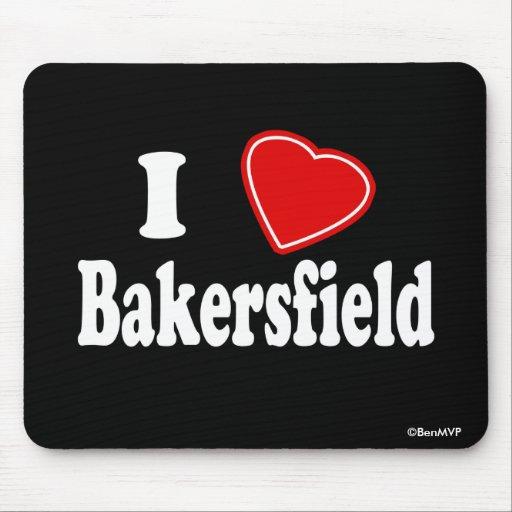 Amo Bakersfield Tapetes De Ratón
