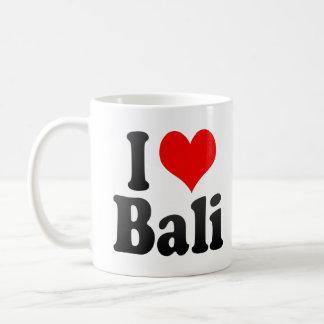 Amo Bali, la India. Mera Pyar Bali, la India Taza Básica Blanca