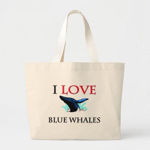 Amo ballenas azules bolsa