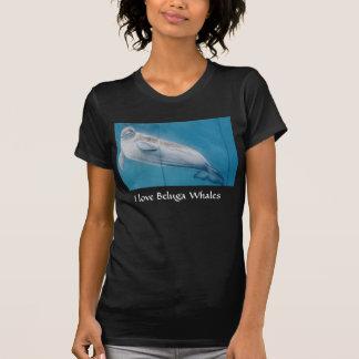 Amo ballenas de la beluga playera
