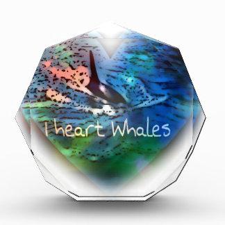 Amo ballenas de la orca en regalos del corazón