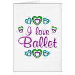 Amo ballet felicitaciones