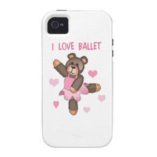 AMO BALLET Case-Mate iPhone 4 CARCASA