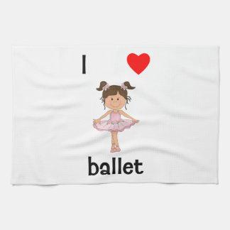 Amo ballet toalla
