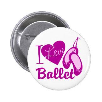 Amo ballet pin