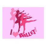 Amo ballet postal