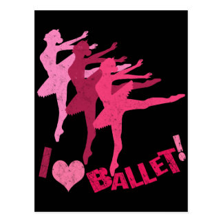 Amo ballet postales