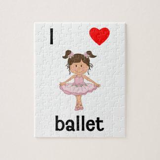 Amo ballet puzzles con fotos