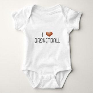 Amo baloncesto body para bebé