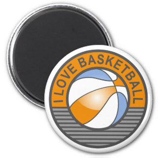 Amo baloncesto imán para frigorifico