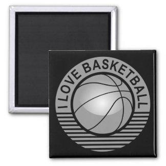 Amo baloncesto iman para frigorífico