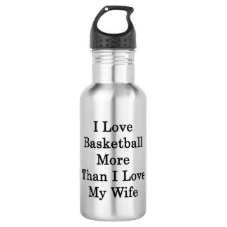 Amo baloncesto más que amor de I mi esposa