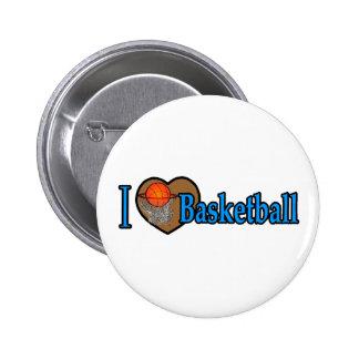 Amo baloncesto pin