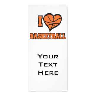 amo baloncesto tarjeta publicitaria personalizada