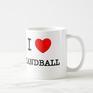 Amo balonmano tazas