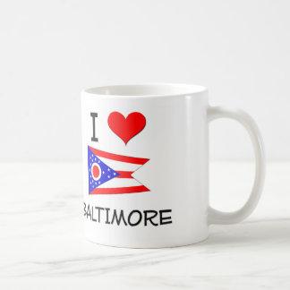 Amo Baltimore Ohio Taza De Café