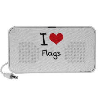 Amo banderas iPhone altavoces