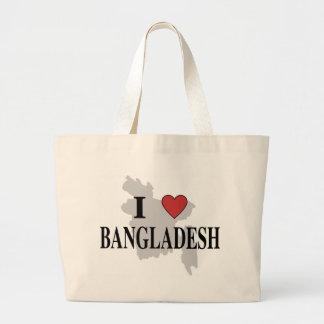 Amo Bangladesh Bolsas Lienzo