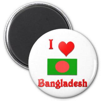 Amo Bangladesh Imán Redondo 5 Cm