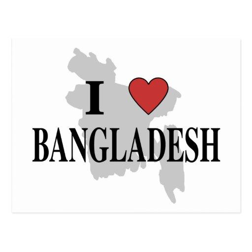 Amo Bangladesh Tarjetas Postales