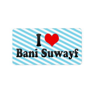 Amo Bani Suwayf, Egipto Etiqueta De Dirección