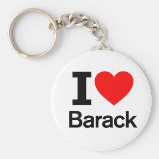 Amo Barack Llaveros Personalizados