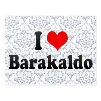 Amo Barakaldo, España Tarjeta Postal