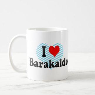Amo Barakaldo, España Taza Básica Blanca