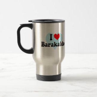 Amo Barakaldo, España Taza De Viaje De Acero Inoxidable