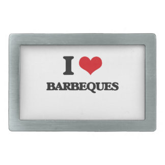 Amo barbacoas hebillas cinturón rectangulares