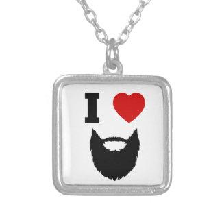Amo barbas colgante cuadrado