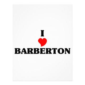 Amo Barberton Membrete