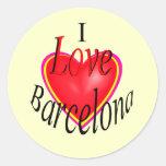 ¡Amo Barcelona! Etiqueta