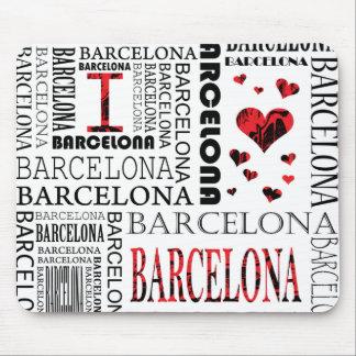 Amo Barcelona Mousepad