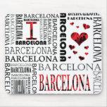 Amo Barcelona Mousepad Alfombrilla De Raton